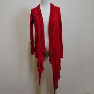 22/24 Lane Bryant cardigan red